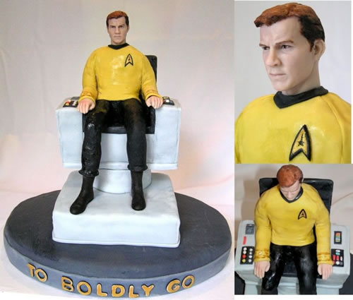 ' ' from the web at 'http://static.neatorama.com/images/2009-06/captain-kirk-cake.jpg'