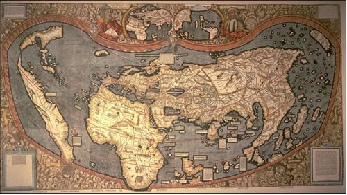 The Waldseemüller Map America's Birth Certificate Neatorama