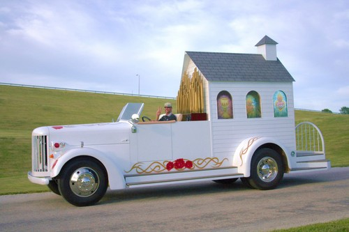 If A Shotgun Wedding Isn T Fast Enough For Ya You Can Get Married In The World S Fastest Church Mobile Chapel Converted From Firetruck Owned
