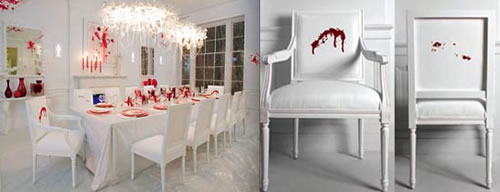 Gruesome and Bloody Things to Decorate Your Home - Neatorama