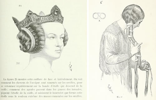 Hairstyles Of The Middle Ages Neatorama