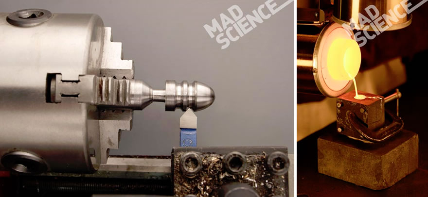 Pictures of cool science stuff you can do at home.