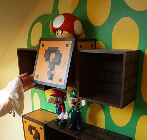 Awesome Diy Bedroom Furniture Ideas: Awesome DIY Mario Furniture