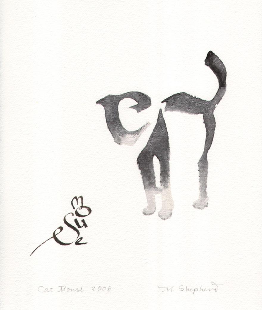 Calligraphy art by margaret shepherd neatorama