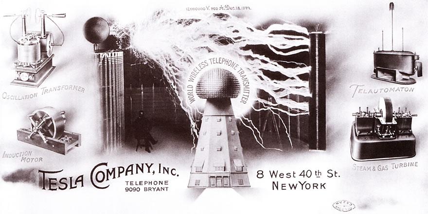 Tesla: Master of Light...