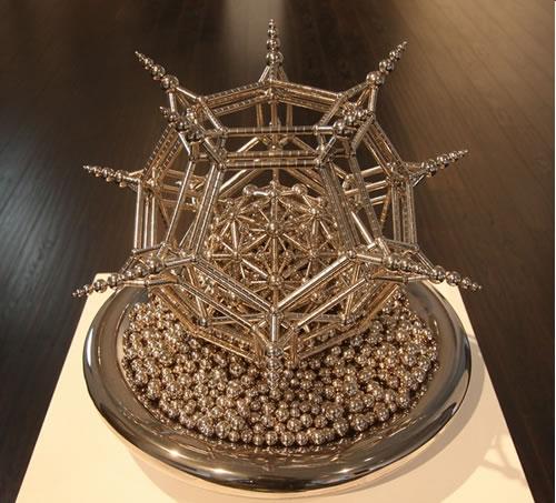 Magnetic Sculpture Acrobats - Acrobats Magnetic Sculpture Design ...