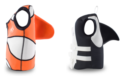 Sea Squirt Life Jackets With Fins Neatorama