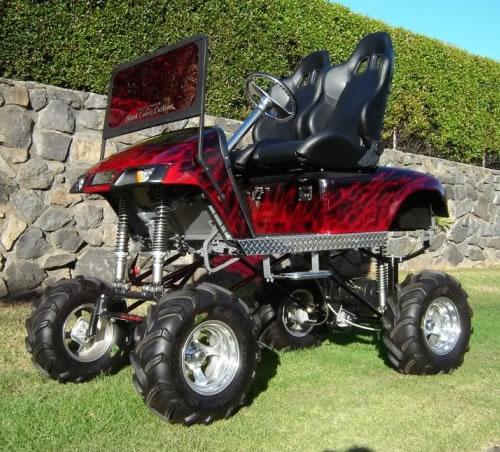 Monster Golf Cart - Neatorama