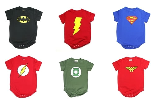 Marvel Superhero Baby Clothes