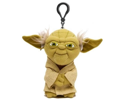 ¡FELIZ CUMPLE, LANCER! Yoda-talking-plush-keychain