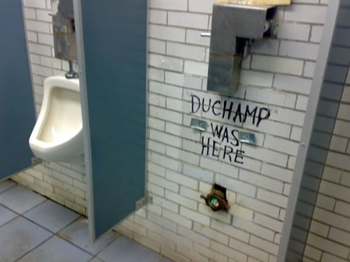 Duchamp was here neatorama for D i y bathroom installations