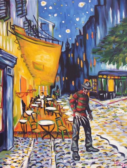 Nightmare At Café Terrace Neatorama