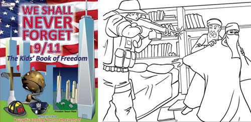 sept 11 coloring book good or bad - Thrill Murray Coloring Book
