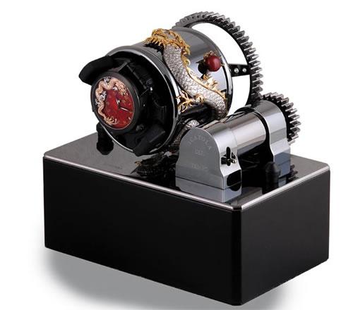 Zannetti Box Of Time Dragon Watch Winder