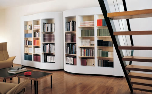 hand bookcases carved antique oak open renaissance bookshelf french