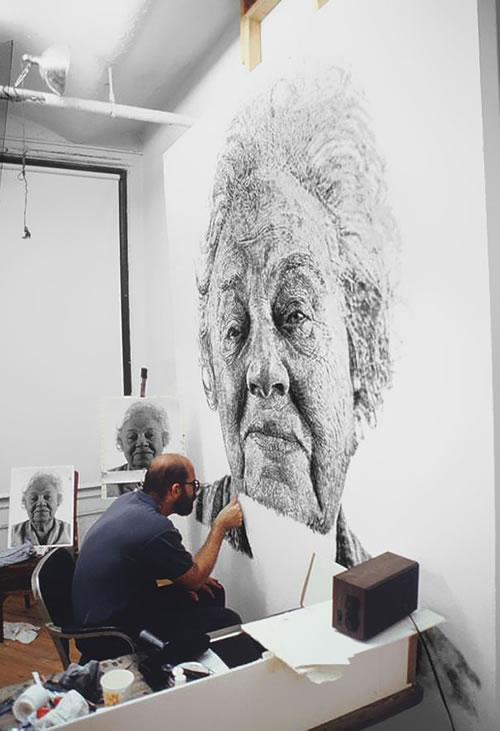 Chuck Close - Painting