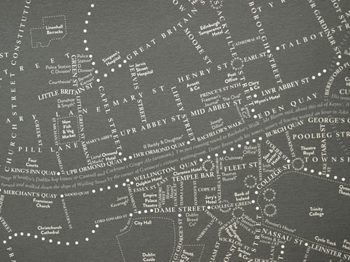 Leopold's Day offers a unique perspective of Ulysses by mapping ...: michellehenry.fr/joyce.htm