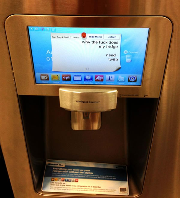 tweeting refrigerator Four Geeky Laws That Rule Our World