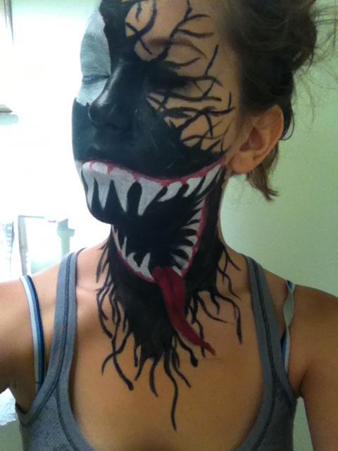 Venom Face Paint - Nea...