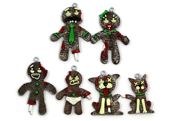 Zombie Christmas Ornaments - Neatorama