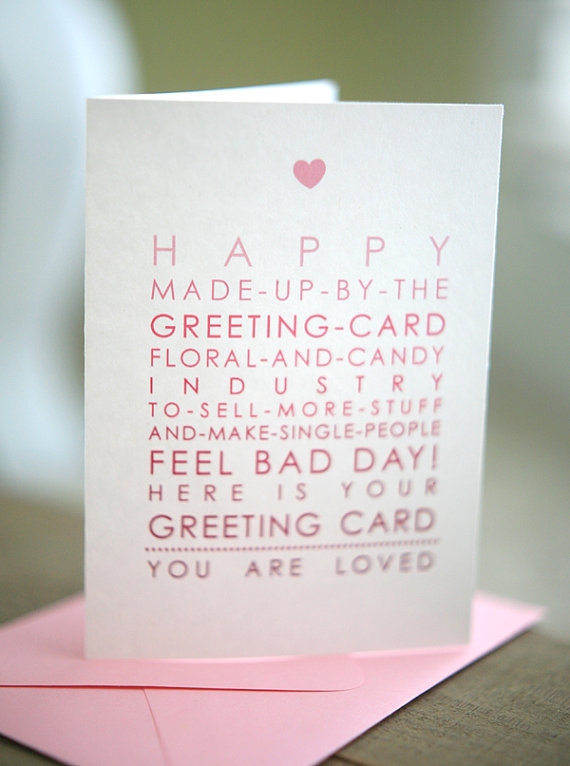 Anti-Valentine's Day Cards - Neatorama