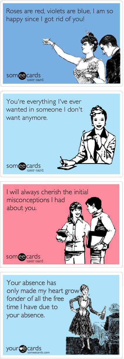 ... Anti Valentineu0027s Day Cards! Someecards Has Got Some Of The Funniest  Ones: