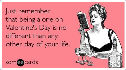 Happy Singles Awareness Day, Forever Aloners! To Help You Celebrate, Here  Are Some Anti Valentineu0027s Day Cards!