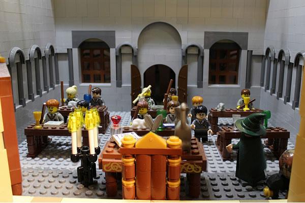 LEGO Hogwarts by Alice Finch - Neatorama