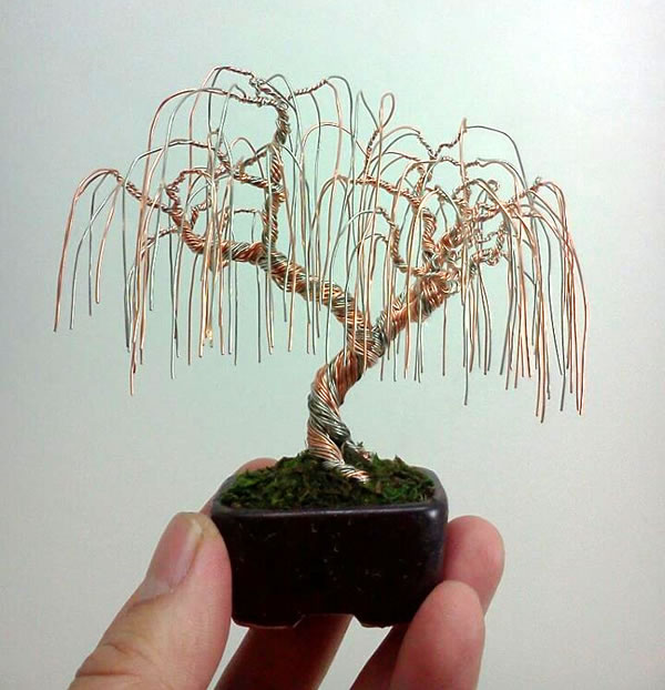Wire Bonsai Trees Neatorama