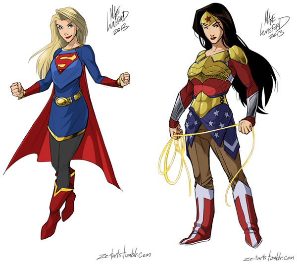 Reasonably Dressed Superheroines
