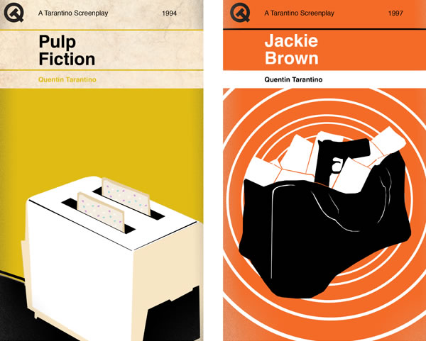 Penguin Book Cover T Shirts : Tarantino films as penguin style book covers neatorama