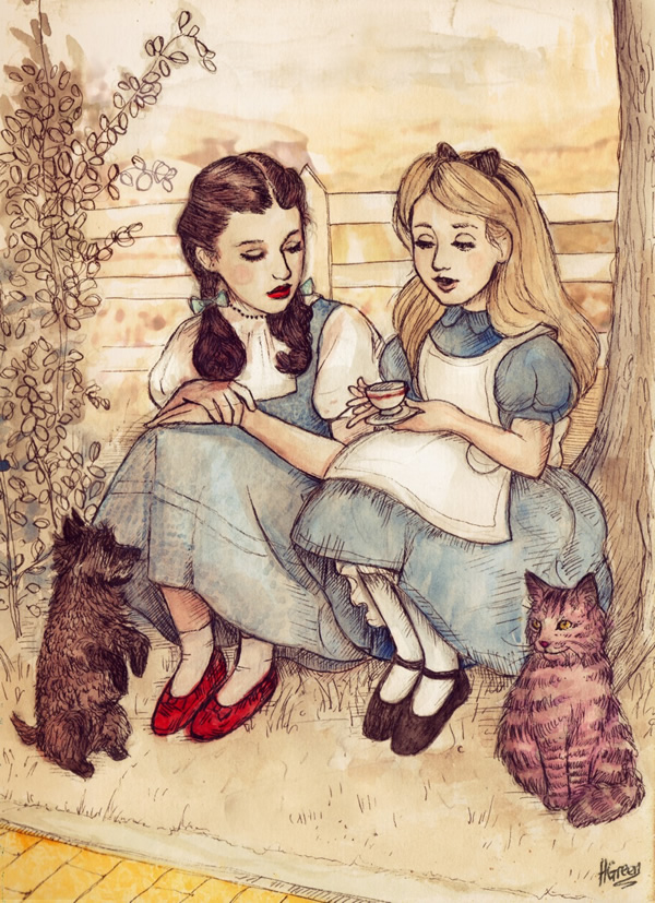 http://static.neatorama.com/images/2013-04/dorothy-alice-helen-green.jpg