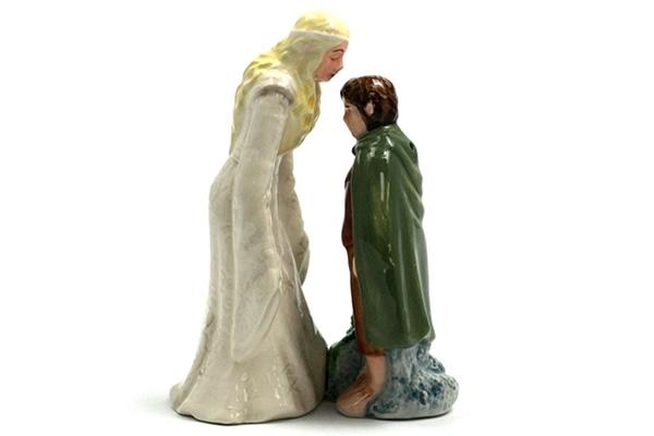 Galadriel kissing Frodo
