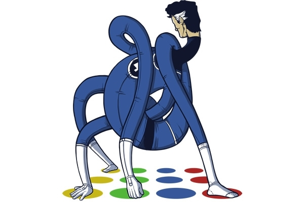Mr. Fantastic is a Twister Champ