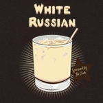 White Russian Drink T-shirt