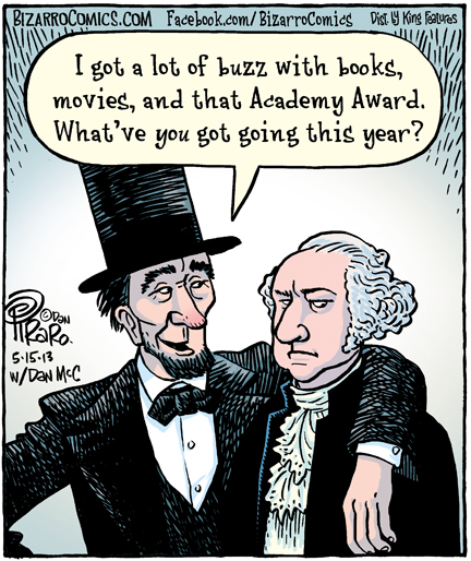 Bizarro: Abraham Lincoln more famous than George Washington