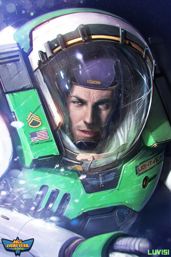 Real life Buzz Lightyear by Dan Luvisi