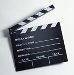 Movie clap stick