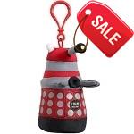 Dalek Plush Keychain