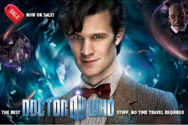 Doctor Who Items on Sale
