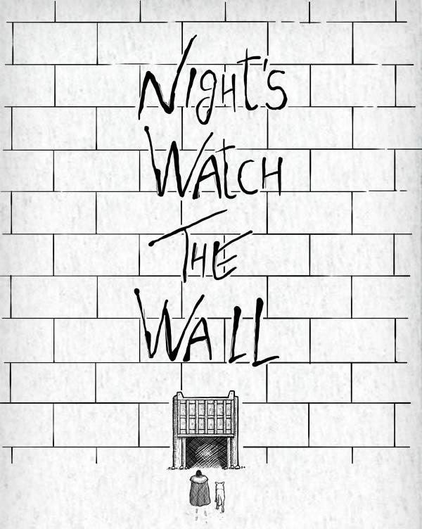 Night's Watch The Wall T-shirt