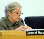 BART general manager Dorothy Dugger