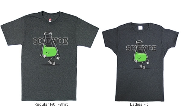 Beakerful of Science T-shirts