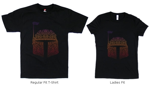 Boba Neon Fett T-shirts