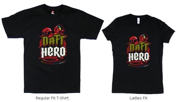 Daft Hero T-shirts