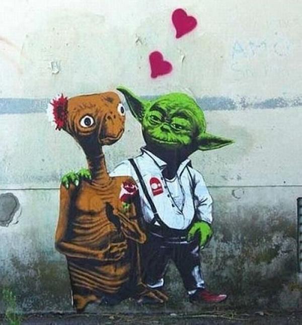 Love E.T., Yoda Does