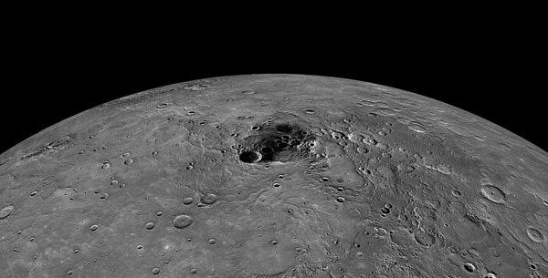 North Pole of Mercury