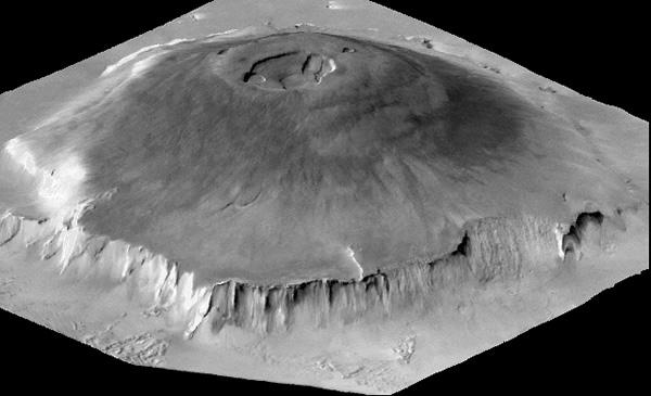 Olympus Mons of Mars