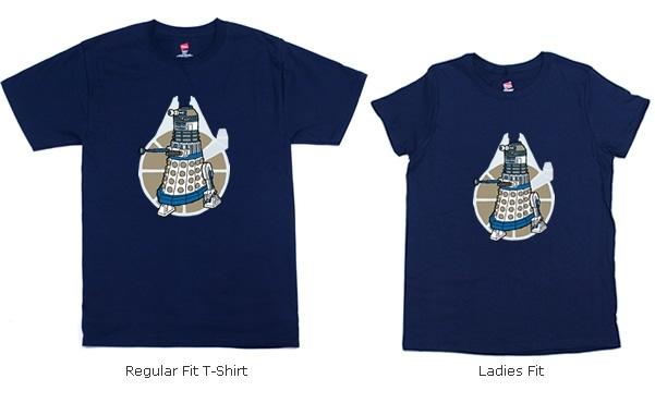 R2-Dalek Shirts