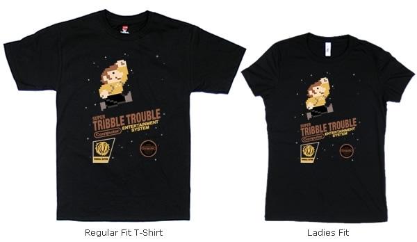 Super Tribble Trouble T-shirts
